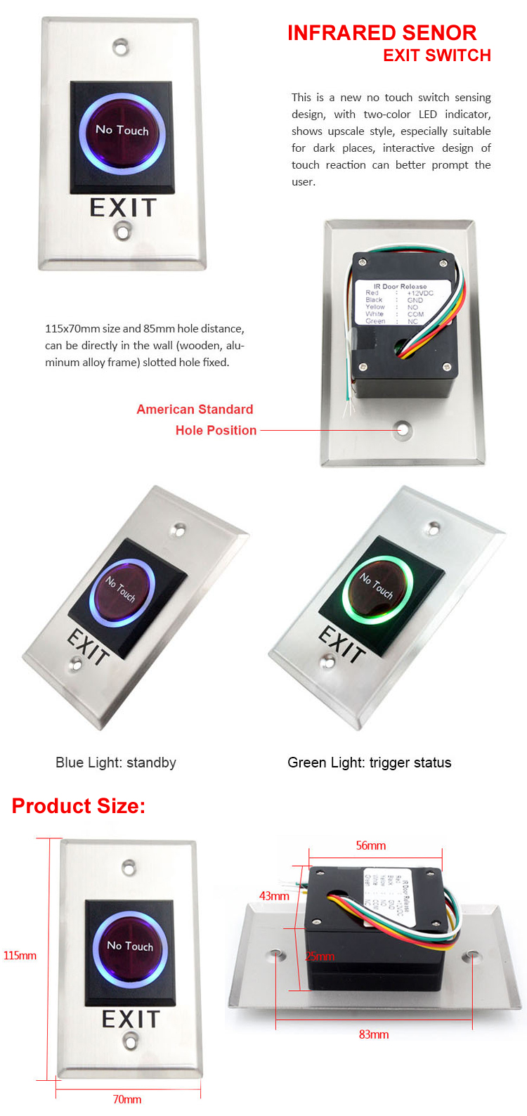 Infrared Sensor Exit Button(图1)